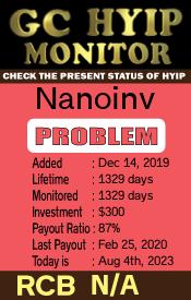 ссылка на мониторинг https://gchyipmonitor.com/details/lid/1704