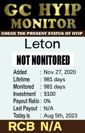 ссылка на мониторинг https://gchyipmonitor.com/details/lid/1880